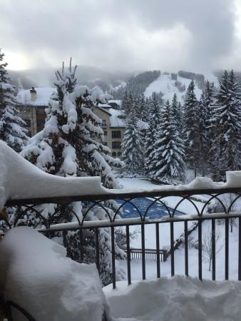 The Charter at Beaver Creek: Room with a view!