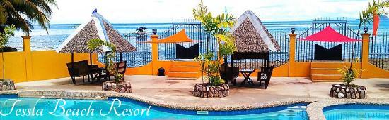 Hindang, Filipinas: Pool and Nippa Huts