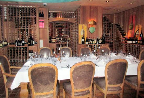 Private Dining Room Area Bistro Napa Atlantis Reno Nv
