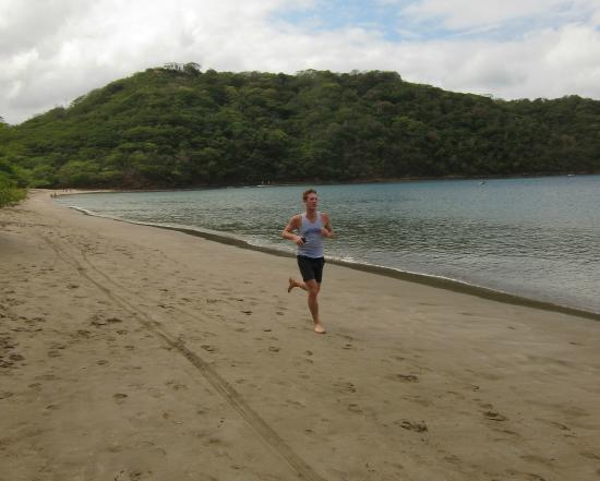 Dreams Las Mareas Costa Rica Jogging Along The Beach At
