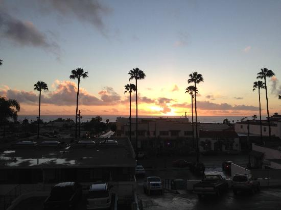 Holiday Inn San Clemente: View from ocean side room.