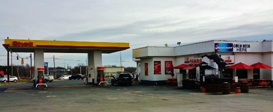 Hot Off the Coals: Look for the Shell Station