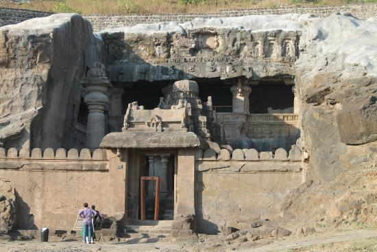 Ajanta, India: Jain temple of ellora