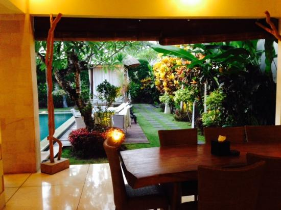 Arwana Estate : view from dining area