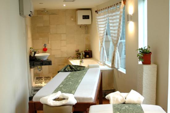Grand Cemara Hotel: Spa Room