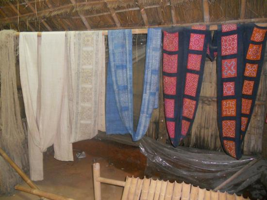 Hill Tribe Museum: native textiles in museum