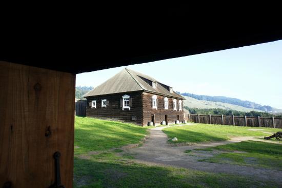 Fort Ross State Historic Park: Inside Fort