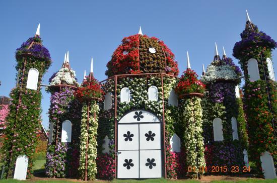 Dubai Miracle Garden: Beautiful House