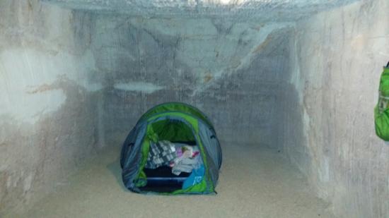 Riba's Underground Camping: Camping underground