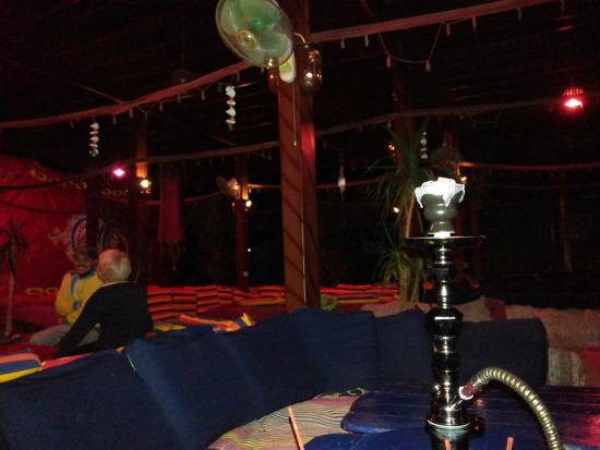 Bedouin Divers Dahab: shisha in bedouin divers