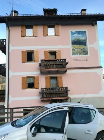 Garni Miravalle: L'albergo