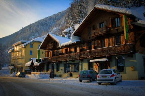 Le Vert Hotel: The hotel in winter