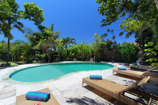 Fare Ti'i  (Villa Ti'i Bali): swimming pool