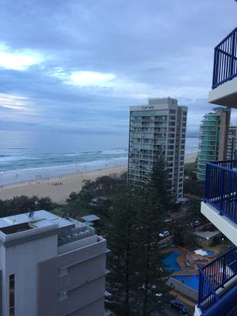 Surf Regency Apartments: View from our apartment