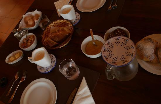 Azienda Agricola Spadafora : Frühstück