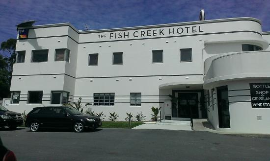 my partner 39 s meal picture of fish creek hotel motel. Black Bedroom Furniture Sets. Home Design Ideas