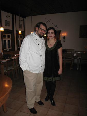 Your hosts Ulrika and Jonas