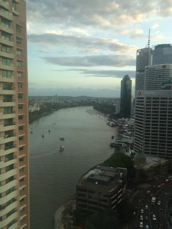 Brisbane Marriott Hotel: Brisbane River and Kangaroo Point