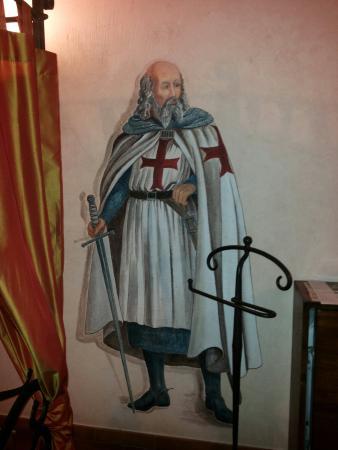 Villa Corte Degli Dei : Il dipinto in camera...