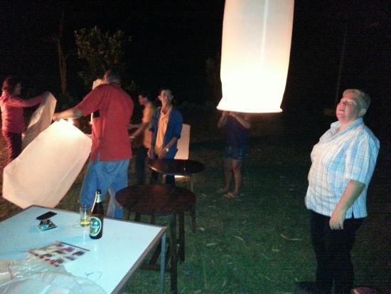 Chang Garden Resort - Family Holiday Park: 'Good Luck Lantern'
