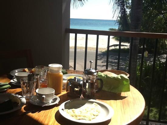 L'Hirondelle: fantastica colazione in camera con vista mozzafiato