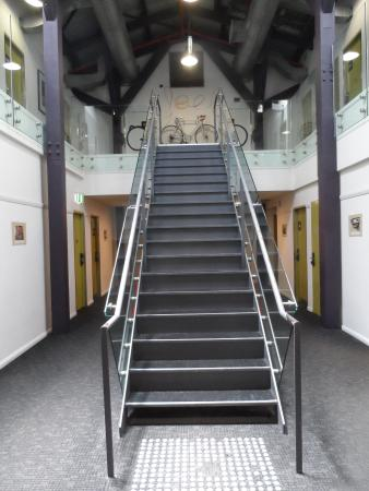Railway Square YHA: Only stairs, no lifts