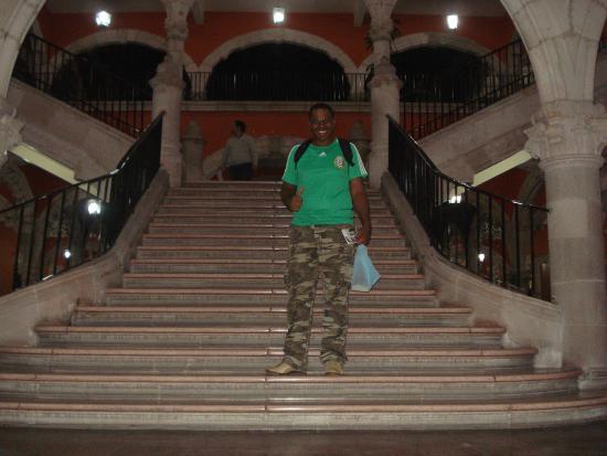 Palacio de Gobierno : Dentro do palácio do governo...
