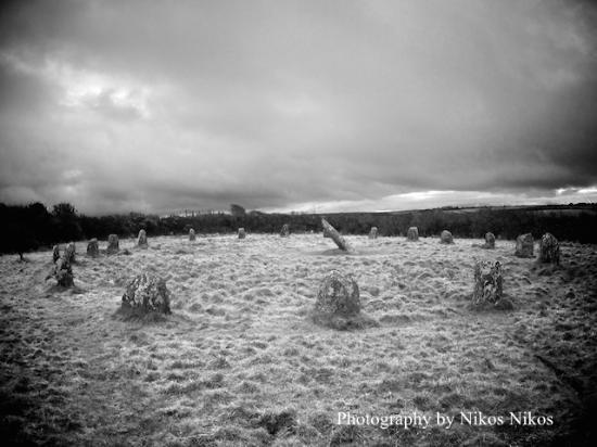 Boscawen-un stone circle : Boscawen Un