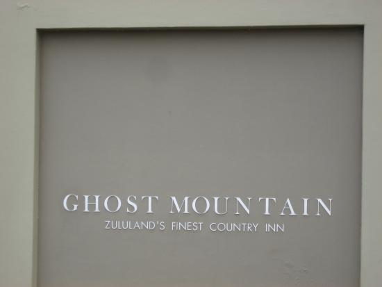 Ghost Mountain Inn : Zululand's finest country inn.