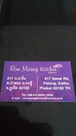 Rom Moung Kitchen