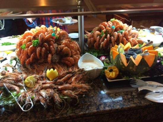 Sea Food Buffet Picture Of Hotel Riu Palace Madeira Canico