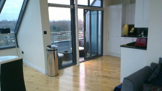 Chelsea Bridge Apartments: Balcony