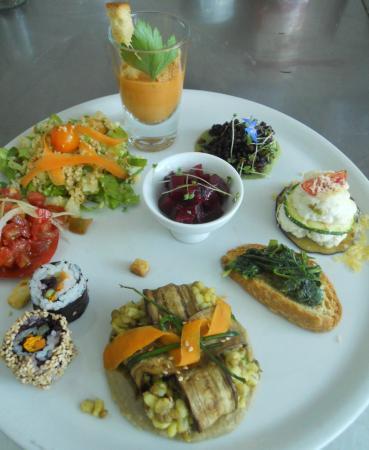 """Terrazza Sul Burano: Antipasto menù """"Vegetariano Estivo"""""""