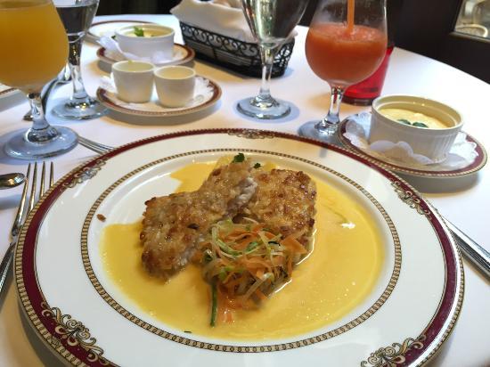 Restaurante Grano de Oro: Trucha deliciosa