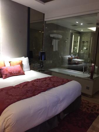 Camera da letto con vista bagno - Foto di Radisson Blu Jaipur ...