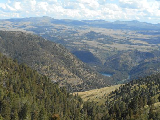 Hell's A-Roarin' Outfitters: view of Yellowstone river form horseback