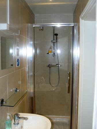 The Waverley Hotel: decent bathroom and nice shower