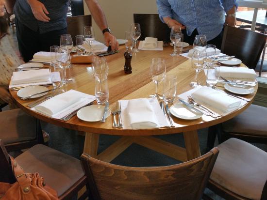 De Bortoli Winery & Restaurant: tavolo
