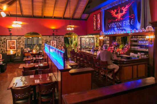 Virgin Fire Bar & Grill: Virgin Fire Grill Dining Room