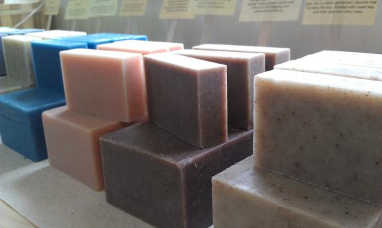 Summer House Natural Soaps: The Naked Soap bar