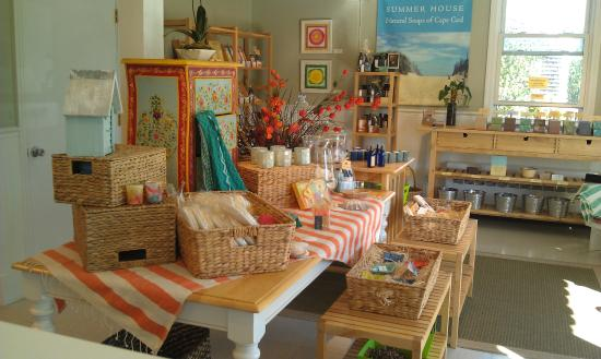 Summer House Natural Soaps: Our Hyannis outlet store
