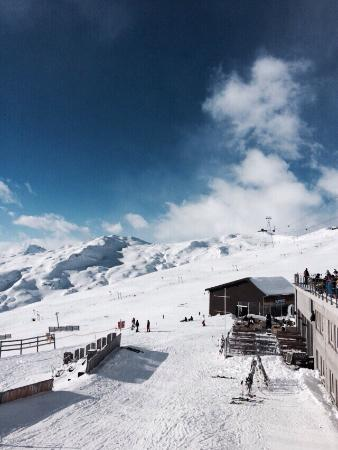 Flims Laax Falera Ski Resort : Weg zu den Pisten