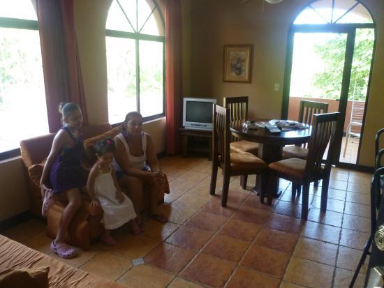 Villas Jinesta: sala de estar