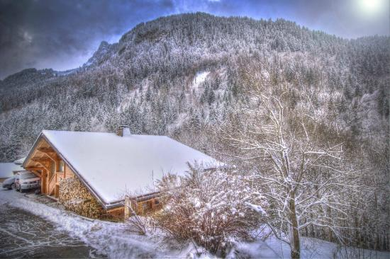 Chalet Famille: The chalet and the views