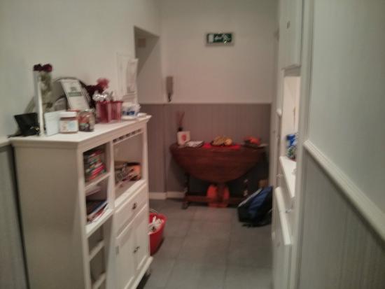Casa Romana : El pasillo principal