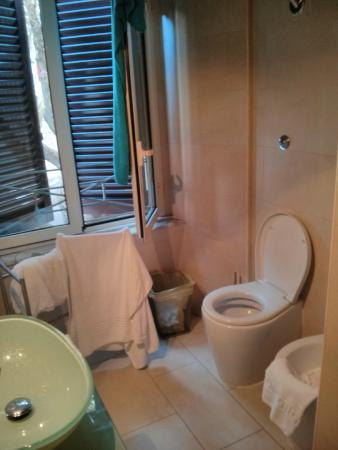 Casa Romana: El baño