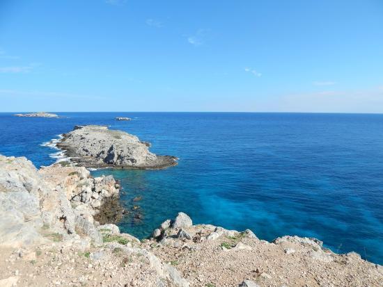 Dipkarpaz, Cyprus: Вид с мыса