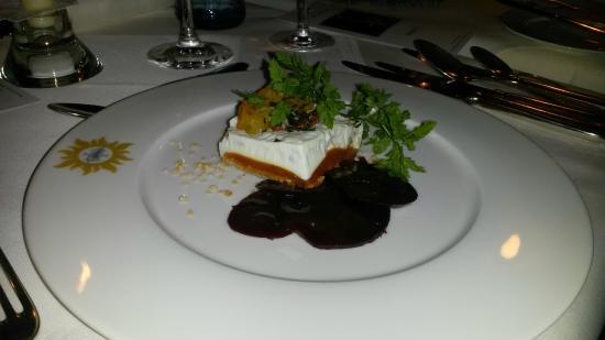 Nationalpark-Hotel Schliffkopf: Vorspeise - es gab auch extra ein vegetarische Menü!!!!