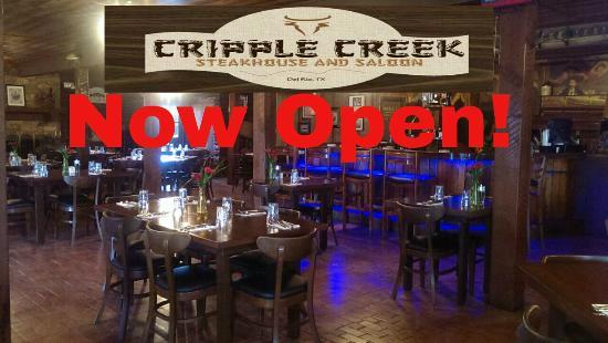 Cripple Creek Steakhouse And Saloon Originals Receipts New Management
