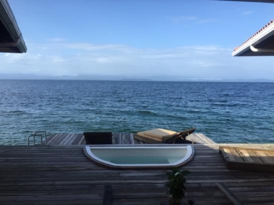 Bocas Villas : Looking off the Deck